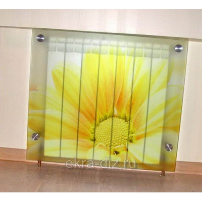 Экран на батарею из стекла