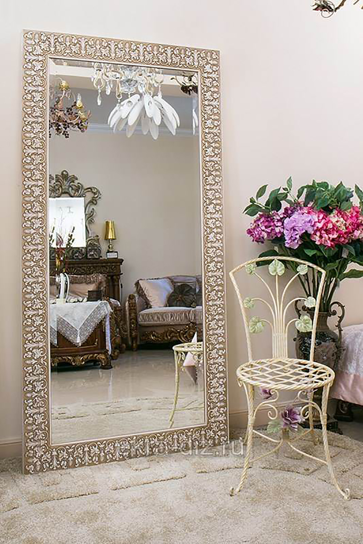 Большие зеркала на заказ в Москве