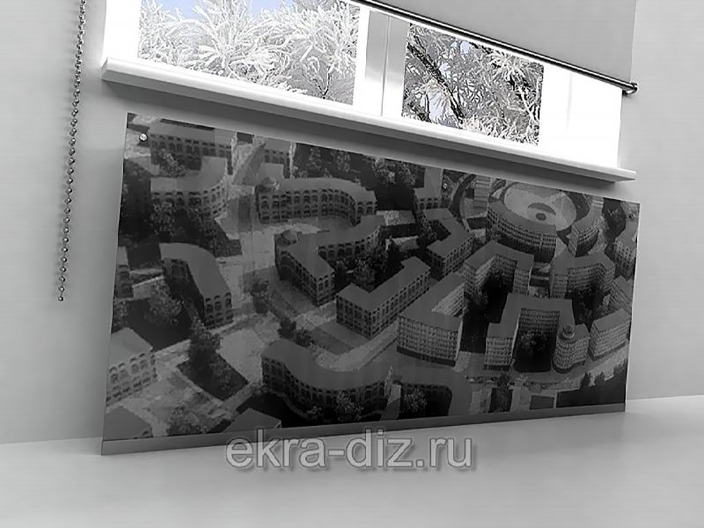 Стеклянные экраны для батарей 14