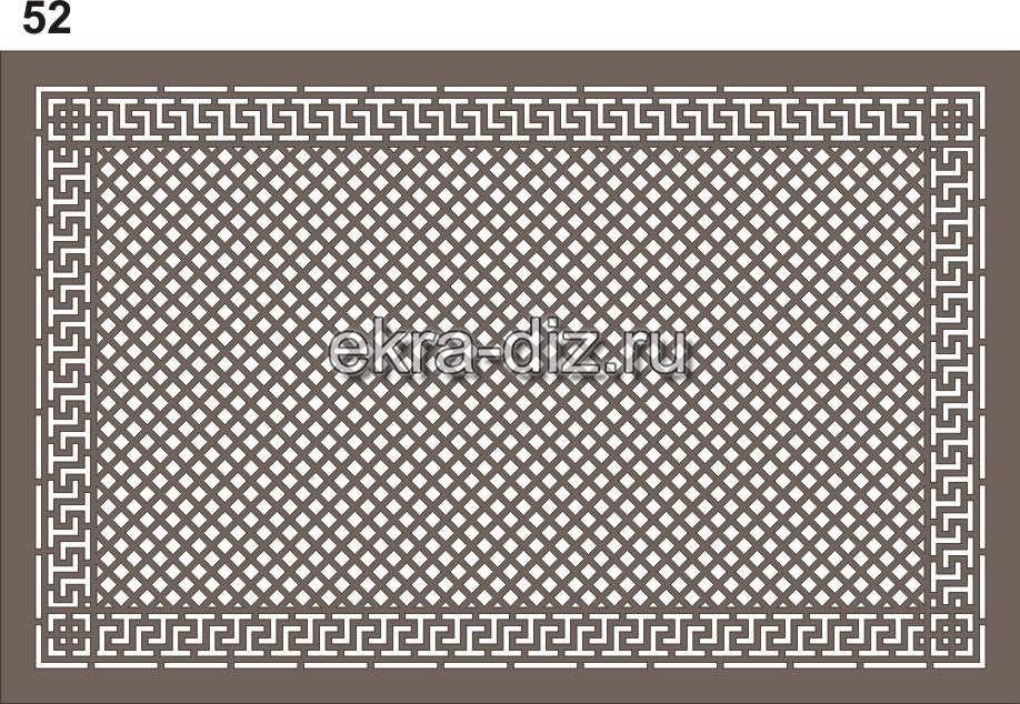 Виды узоров для экранов батарей с лазерной резкой 16