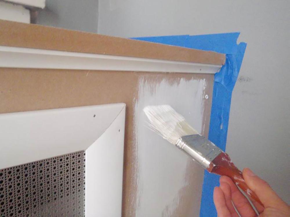 Как покрасить металлические экраны на батарею своими руками