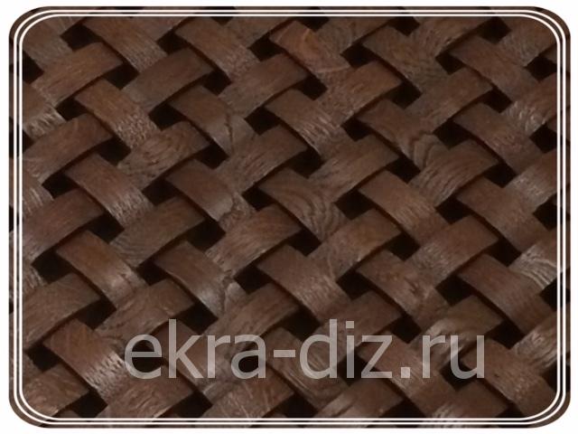 Деревянная решетка для батареи отопления серия «Массив» 2