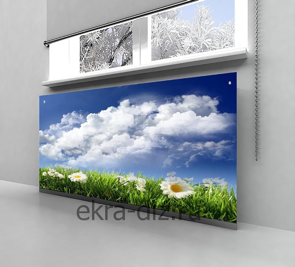 Стеклянные экраны для батарей 4