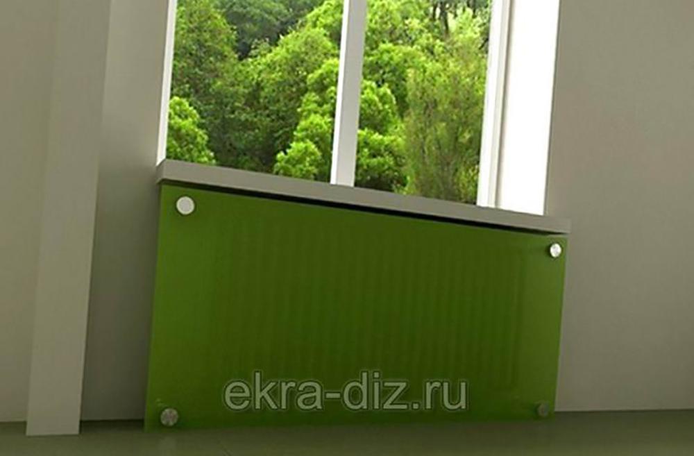 Стеклянные экраны для батарей 2