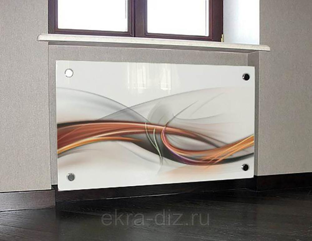 Стеклянные экраны для радиаторов